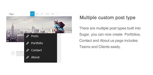 Sugar - Business Responsive WordPress Theme - 9