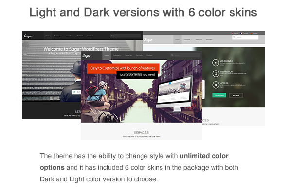 Sugar - Business Responsive WordPress Theme - 11